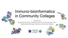 Immuno-biotechnology and Bioinformatics in Community Colleges