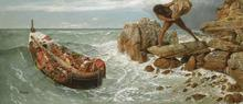 Odysseus at battle