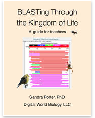 BLASTing through the kingdom of life - a guide for teachers